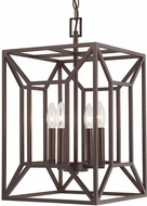 Capital Lighting 512941BB Foyers Contemporary Burnished Bronze Foyer Lighting Fixture