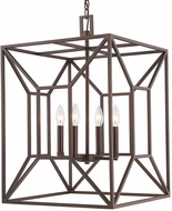 Capital Lighting 512942BB Foyers Contemporary Burnished Bronze Foyer Lighting