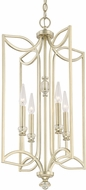 Capital Lighting 513841SF Windsor Contemporary Soft Gold Entryway Light Fixture