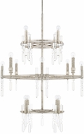 Capital Lighting 525301AS Drake Antique Silver Foyer Lighting