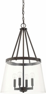Capital Lighting 525641BB-442 Modern Burnished Bronze Foyer Lighting Fixture