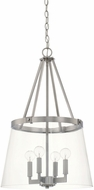 Capital Lighting 525641BN-442 Contemporary Brushed Nickel Entryway Light Fixture