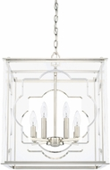 Capital Lighting 525681PN Modern Polished Nickel Foyer Lighting Fixture