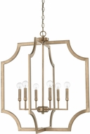 Capital Lighting 526161AD Modern Aged Brass Foyer Lighting