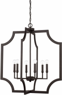 Capital Lighting 526161BI Contemporary Black Iron Foyer Light Fixture