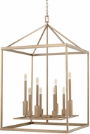 Capital Lighting 527581AD Lyra Modern Aged Brass Foyer Lighting