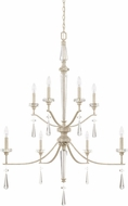 Capital Lighting 527881WW Serena Winter White Entryway Light Fixture