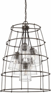 Capital Lighting 529761NG-462 Turner Modern Nordic Grey Foyer Lighting Fixture