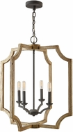 Capital Lighting 530641SS Contemporary Sea Salt 25  Foyer Lighting Fixture