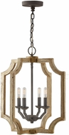 Capital Lighting 530642SS Modern Sea Salt 18  Entryway Light Fixture