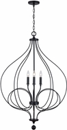 Capital Lighting 531641MB Sonnet Modern Matte Black Foyer Lighting