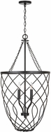 Capital Lighting 531642MB Sonnet Contemporary Matte Black Foyer Light Fixture