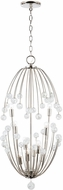 Capital Lighting 531701PN Audra Modern Polished Nickel Foyer Lighting Fixture