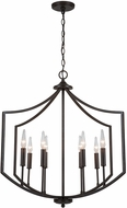 Capital Lighting 531881OB Marlow Contemporary Old Bronze Entryway Light Fixture