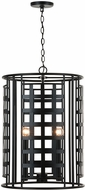 Capital Lighting 532241MB Garrison Modern Matte Black Foyer Lighting