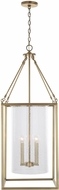 Capital Lighting 532841AD Modern Aged Brass Foyer Lighting Fixture