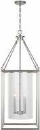 Capital Lighting 532841BN Contemporary Brushed Nickel Entryway Light Fixture