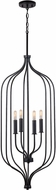 Capital Lighting 533241MB Nira Contemporary Matte Black Foyer Light Fixture