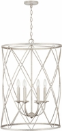 Capital Lighting 538365WW 6 Contemporary Winter White Foyer Light Fixture