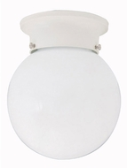 Capital Lighting 5569WH White Flush Mount Lighting Fixture