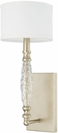Capital Lighting 610811SF-660 Seaton Contemporary Soft Gold Lamp Sconce