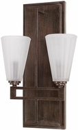 Capital Lighting 611321RS-319 Avalon Russet Wall Mounted Lamp