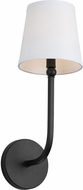 Capital Lighting 619311MB-674 Dawson Matte Black Wall Lighting Sconce