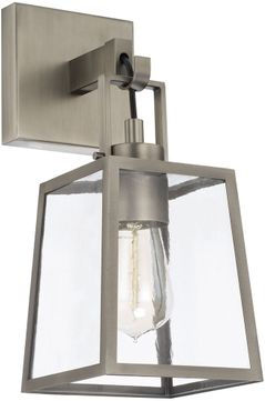 Capital Lighting 625511AN-447 Kenner Contemporary Antique Nickel Lighting Wall Sconce
