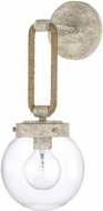 Capital Lighting 627412MS Beaufort Contemporary Mystic Sand Wall Lighting Fixture
