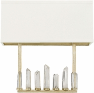 Capital Lighting 628221WG Adira Winter Gold Lighting Sconce
