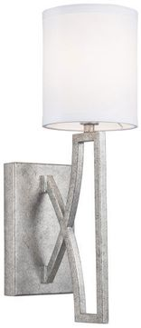 Capital Lighting 632411AS-689 Bryce Modern Antique Silver Wall Lighting Sconce
