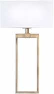 Capital Lighting 633321AD Contemporary Aged Brass Wall Light Sconce
