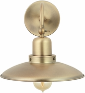 Capital Lighting 634811AD Modern Aged Brass Lighting Sconce