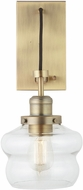 Capital Lighting 634813AD-481 Modern Aged Brass Wall Sconce Lighting