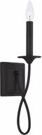 Capital Lighting 637211BI Vincent Black Iron Lamp Sconce