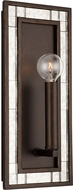 Capital Lighting 637411FZ Chaucer Buffed Bronze Light Sconce