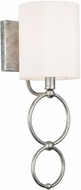 Capital Lighting 637911AS-697 Oran Antique Silver Sconce Lighting