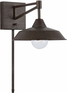 Capital Lighting 638413MI 3 Mineral Brown Wall Lamp