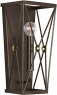 Capital Lighting 638611FZ Adrian Buffed Bronze Wall Sconce