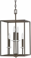 Capital Lighting 7001BB Morgan Burnished Bronze Foyer Lighting Fixture