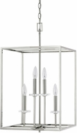 Capital Lighting 7002PN Morgan Polished Nickel Foyer Light Fixture