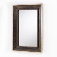 Capital Lighting 723202MM Mirrors Distressed Wood & Aluminum Mirror