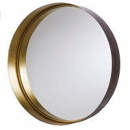 Capital Lighting 723302MM Mirrors Brushed Bronze & Aged Brass Wall Mirror