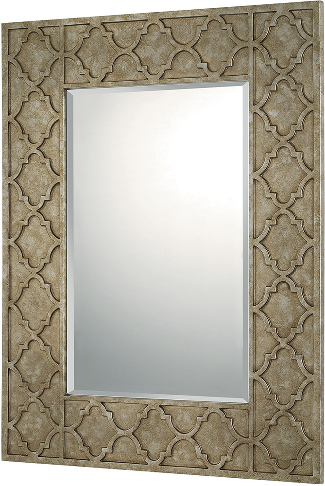 Capital Lighting 724001mm Mirrors Silver And Bronze Wall Mounted Mirror