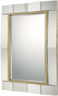 Capital Lighting 724501MM Mirrors Gold Leaf Wall Mirror