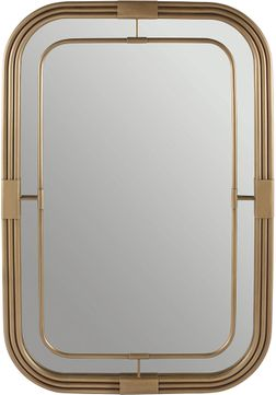 Capital Lighting 730201MM Aged Brass Mirror