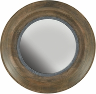 Capital Lighting 730204MM Washed Wood & Iron Mirror