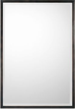Capital Lighting 736104MM Mirror Contemporary Matte Black Wall Mounted Mirror