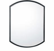 Capital Lighting 736105MM Mirror Matte Black Mirror