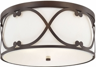 Capital Lighting 8073BB Alexander Burnished Bronze Flush Lighting